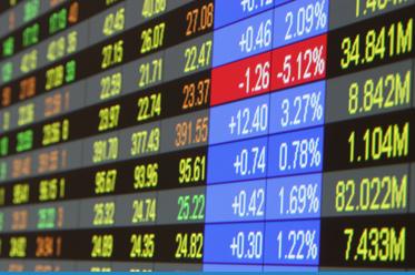 Sprzedający przejmują kontrolę na rynku akcji